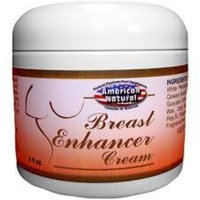 American Natural Breast Enhancer Cream 4 oz Tone & Firm Skin Care