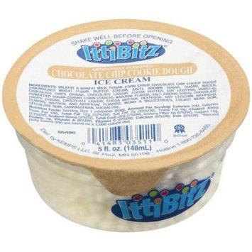 Ittibitz Chocolate Chip Cookie Dough Ice Cream, 5 fl oz