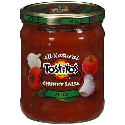 Tostitos Chunky Salsa Mild 15.5-oz. Jar (Pack of 3)