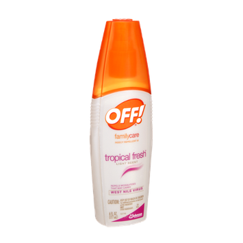 OFF! FamilyCare Tropical Fresh Light Scent Insect Repellent III