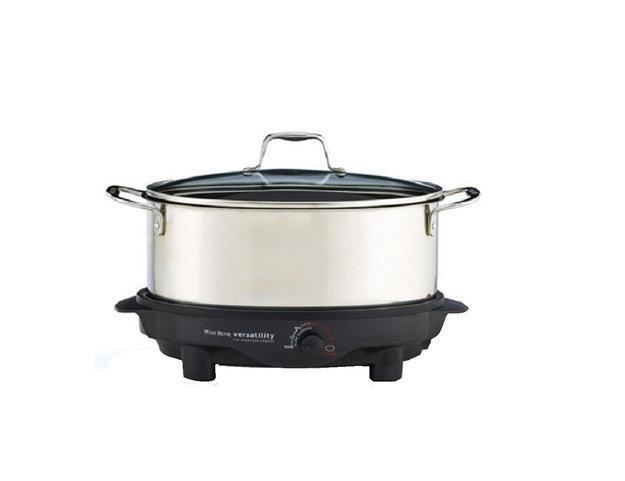 Focus Electrics 84866 WB 6 Qt. Versatility Slow Cooker
