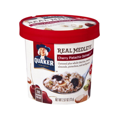 Quaker® Real Medleys Cherry Pistachio Oatmeal