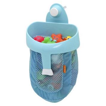 Brica BRICA Super Scoop Bath Toy Organizer with Wall Suction - Blue