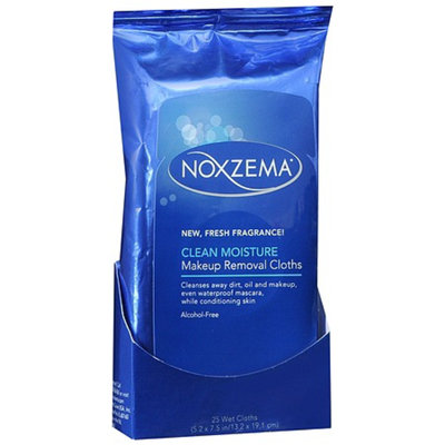 Noxzema Fresh Fragrance Clean Moisture Makeup Removal Cloths