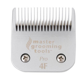 Master Grooming Tools Ceramic Pet Blade, Size 4F Finish, 3/8-Inch Cut Length