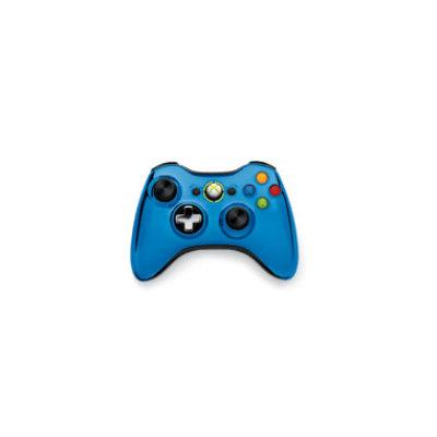 Microsoft Xbox 360 Controller Wireless Blue Chrome