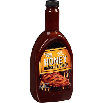 Wal-mart Stores, Inc. Great Value Honey Barbecue Sauce, 40 oz