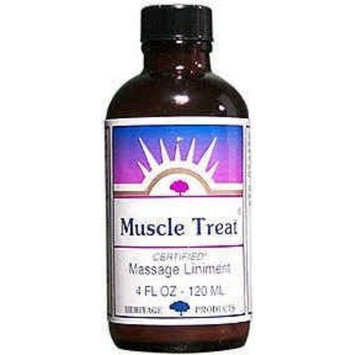 Muscle Treat Liniment Heritage Store 4 oz Liquid