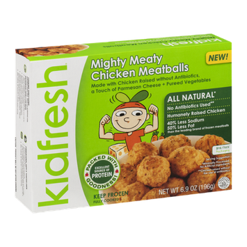 Kidfresh Mighty Meaty Chicken Meatballs