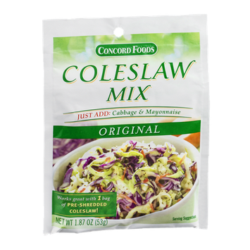 Concord Foods Coleslaw Mix Original