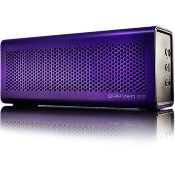 Braven BZ570 Purple Portable Wireless Speaker