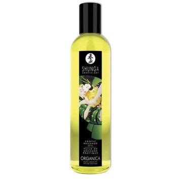 Shunga Erotic Massage Oil, Organic Green Tea, 1 Ounce