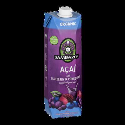 Sambazon Acai Organic Juice Blend Blueberry & Pomegranate