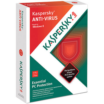 KASPERSKY LAB INC Kaspersky Anti-Virus 2013, 3 Users