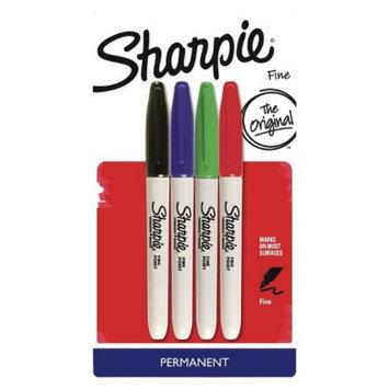 Sharpie 4ct Fine Tip Marker - Assorted Color