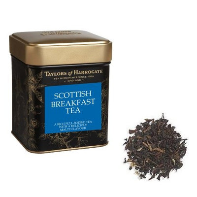 Taylors of Harrogate - Scottish Breakfast Tea - Loose Leaf Tin - 125g - 4.4oz