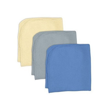 Washcloths Knit Boys 3 Pack (1 Ea) by Green Sprouts