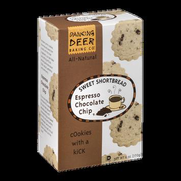 Dancing Deer Sweet Shortbread Cookies Espresso Chocolate Chip