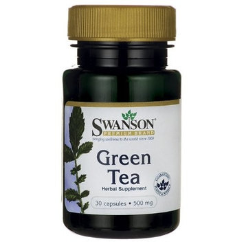 Swanson Premium Green Tea 500 mg 30 Caps