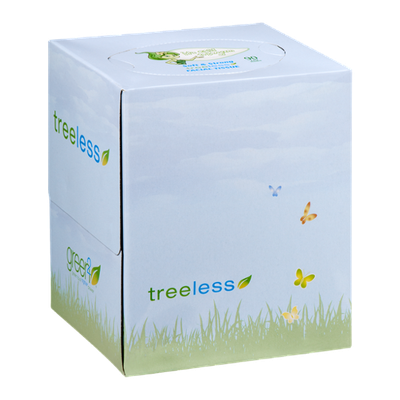 Green2 Tree Free Facial Tissue - 90 CT