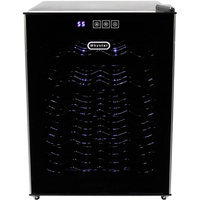 Whynter WC-201TD 20-Bottle Thermoelectric Wine Cooler, Black