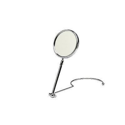 Swissco Chrome Neck & Standing Mirror, 5-Inch, 1x/7x, 15-Ounce Box