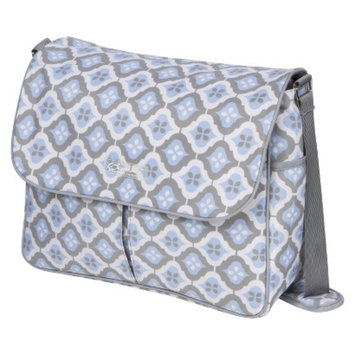 The Bumble Collection Amber Diaper Bag Tote - Sky Blue