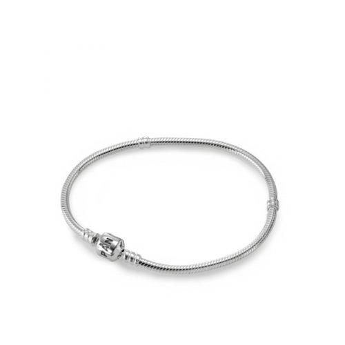 Genuine PANDORA Sterling Silver 8.3 Bead Clasp Charm Bracelet 590702HV-21