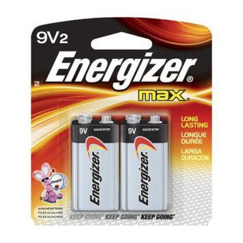 Energizer Max 9V Batteries 2 Count