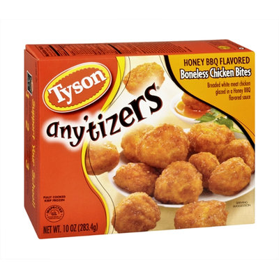 Tyson Any'tizers Chicken Bites Boneless Honey BBQ
