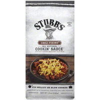 Stubb's Chili Fixins Cookin' Sauce, 12 oz, (Pack of 12)