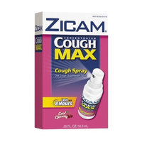 Zicam Cough Concentrated Max Cough Spray, Cool Cherry, .55-Ounce Bottle (Pack of 2)