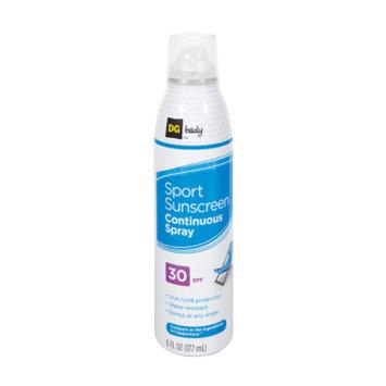 DG Body Continuous Spray Sport Sunscreen - SPF 30 - 6 oz
