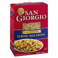 San Giorgio Enriched Macaroni Product Elbow Macaroni