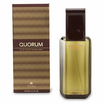 Quorom Quorum 3.4 oz Eau de Toilette Spray for Men by Elizabeth Arden