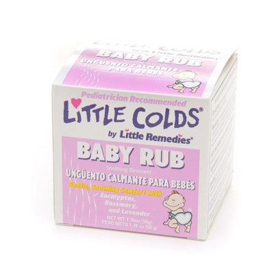 Little Colds Baby Rub Soothing Ointment