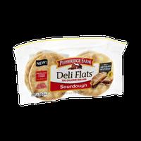 Pepperidge Farm® Deli Flats Artisan Inspired Sourdough Pre-sliced Rolls