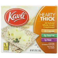 Kavli Hearty Thick Crispbread, 5.29-Ounce Boxes (Pack of 12)