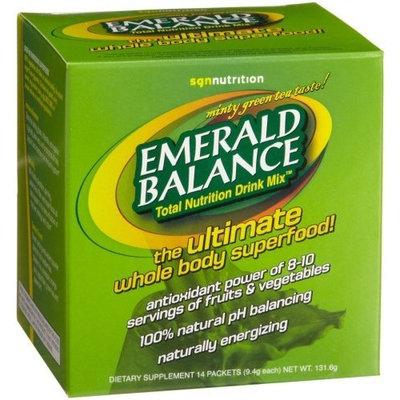 Spirit Garden Nutrition Emerald Balance Total Nutrition Drink Mix, 14-Count Packets