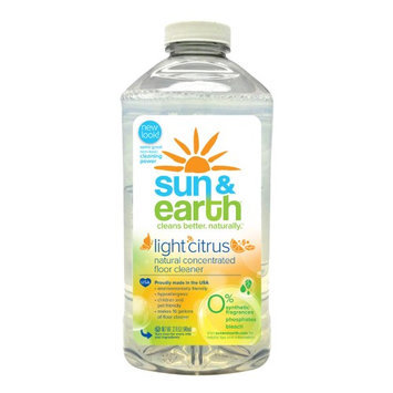 Sun & Earth Concentrated Natural Floor Cleaner, 32 oz