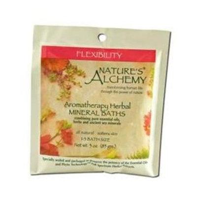 Nature's Alchemy, Aromatherapy Herbal Mineral Baths Flexibility 3 oz