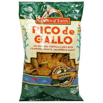 Garden of Eatin' Pico de Gallo Tortilla Chips, 9 Ounce Bags (Pack of 12)