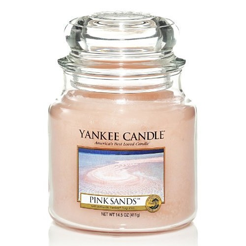 Yankee Candle Pink Sands Medium Jar 14.5oz Candle [One]