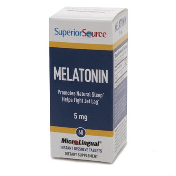 Superior Source Melatonin 5mg