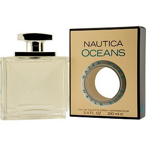 Nautica Oceans Men's Eau De Toilette Spray