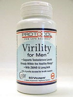 Virility For Men 60 vcaps by Protocol For Life Balance