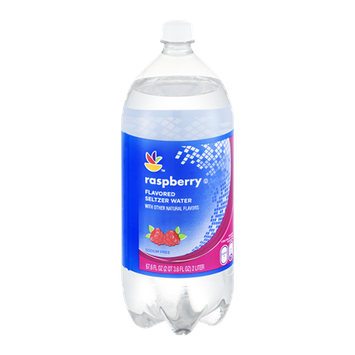 Ahold Raspberry Flavored Seltzer Water