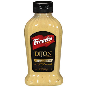 French's Dijon Mustard with Chardonnay