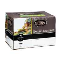 Celestial Seasonings Keurig Brewed English Breakfast Black Tea K-Cups - 12 PK