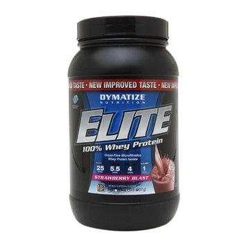 Dymatize Nutrition Elite 100% Whey Protein Strawberry Blast